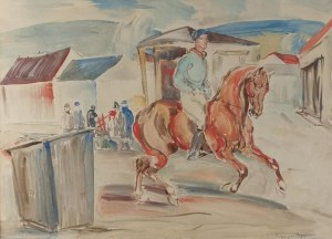 Eugeniusz GEPPERT (1890-1979), Jockey na koniu