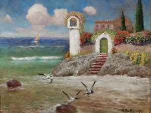 Roman BRATKOWSKI (1869-1954), Motyw z Capri