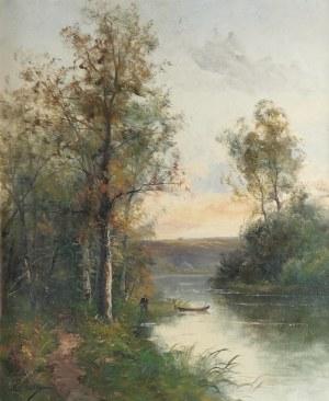 C. LION, XIX / XX w., Pejzaż nadwodny