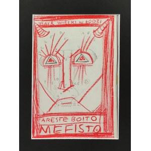 Franciszek STAROWIEYSKI (1930-2009), Mefisto, Projekt plakatu dla Teatru Wielkiego w Łodzi, lata 90. XX w.