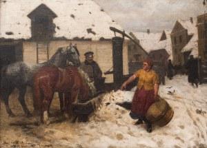 Stanisław Witkiewicz (1851 Poszawsze – 1915 Lovran), Pojenie koni