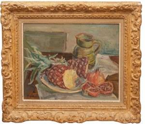 Henryk Epstein (1891 Łódź - 1944 Auschwitz), Martwa natura z ananasem