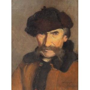 Alfons Karpiński (1875 Rozwadów - 1961 Kraków), Portret mężczyzny
