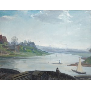 Irena Weiss zw. Aneri (1888 Łódź - 1981 Kraków), Wisła pod Wawelem, ok. 1937