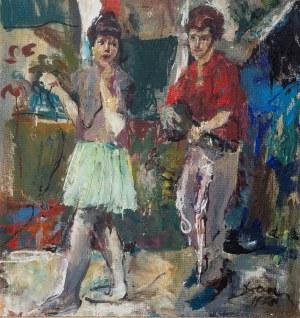 Antoni Suchanek (1901 Rzeszów - 1982 Gdynia), Jazz z cyklu Młodzi, 1968 r.