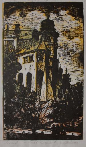 Zygmunt Acedański (1909-1991), Wawel - Kraków