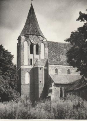PRUSZCZ GDAŃSKI (pow. gdański). Kościół Podwyższenia Krzyża Świętego