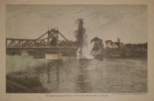 BRZEG. Prace rozbiórkowe przy Moście Odrzańskim