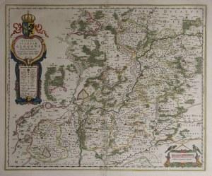 GŁOGÓW. Mapa Księstwa Głogowskiego