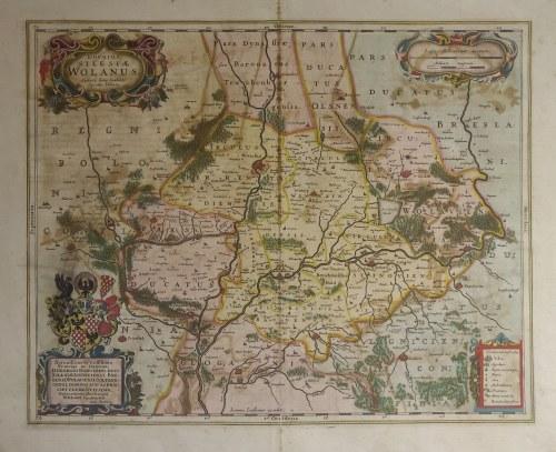 WOŁÓW. Mapa Księstwa Wołowskiego