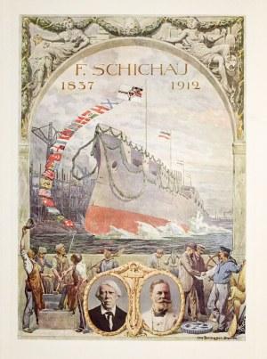 ELBLĄG, GDAŃSK, PIŁAWA. Die Schichau-Werke in Elbing, Danzig und Pillau, 1837-1912, wyd. Meis...