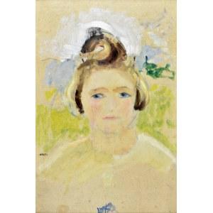 Aneri Irena Weissowa (1888-1981), Portret dziewczynki - Hanusia, ok. 1926