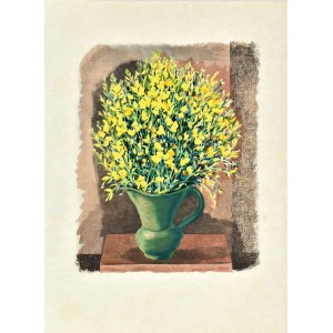 Mojżesz Kisling (1891 - 1953), Kwiaty w wazonie