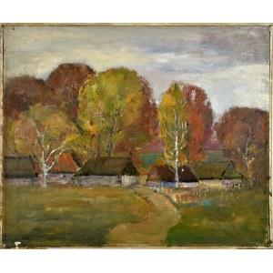 Henryk Krych (1905-1980), Jesienny pejzaż
