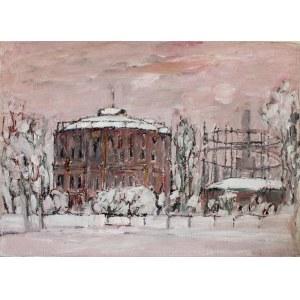 Henryk Krych (1905 - 1980), Pejzaż miejski zimą