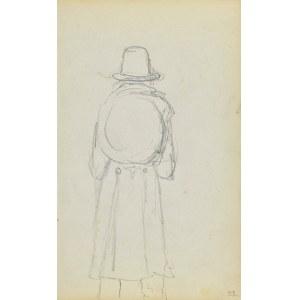 Jacek Malczewski (1854-1929), Postać z kulistym tobołkiem ukazana tyłem