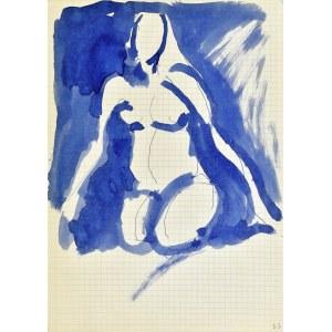 Jerzy Panek (1918-2001), Akt kobiety klęczącej