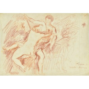 Kazimierz Podsadecki (1904-1970), Wenus i Adonis wg obrazu Tycjana
