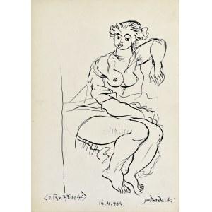 "Kazimierz Podsadecki (1904-1970), Betsabe wg obrazu Petera Paula Rubensa ""Betsabe w kąpieli"", 1964"
