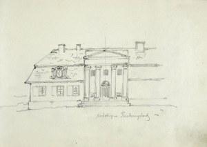 Tadeusz Rybkowski (1848-1926), Szkic pałacu