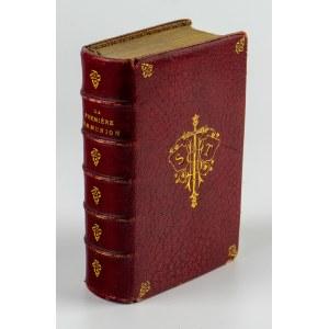 FLAVIGNY Mme La Comtesse De - La première communion règlement de vie