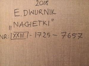 Edward Dwurnik, Nagietki, 2018