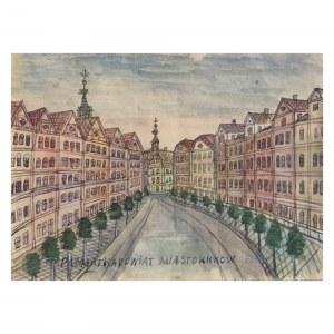 Nikifor Krynicki (1895 Krynica - 1968 Folusz), Miasto Kraków