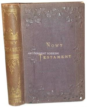 [BIBLIA]. NOWY TESTAMENT. ŻYWOT JEZUSA CHRYSTUSA WEDŁUG EWANGELISTÓW W STALORYTACH ZDJĘTYCH Z OBRAZÓW WIELKICH MISTRZÓW Paryż 1860