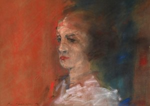 Roman Banaszewski (Ur. 1932 R.), Portret, 1990 r.