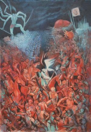 Juliusz Lewandowski, Battle of Heaven and Hell, 2016