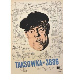 Wojciech Fangor, Taksówka nr 3886, 1953