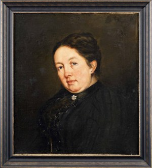 Maurycy GOTTLIEB (1856 Drohobycz - 1879 Kraków), Portret kobiety