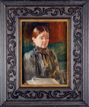 Jacek MALCZEWSKI (1854 Radom - 1929 Kraków), Portret Bronisławy Malczewskiej