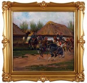 Jerzy KOSSAK (1886 Kraków - 1955 Kraków), Alarm