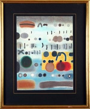 Jan TARASIN (1926 Kalisz - 2009 Warszawa), Kompozycja abstrakcyjna, 1990