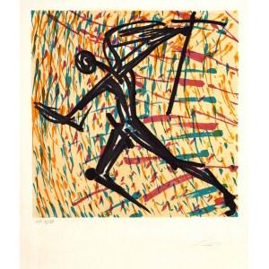 Salvador DALÍ (1904 Figueras, Hiszpania - 1989 Figueras, Hiszpania), Wiara, która słabnie, z cyklu: Witraże, Znaki wiary, 1973