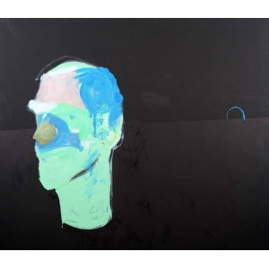 Norman LETO (ur. 1980 Bochnia), Autoportret w słońcu, 2018