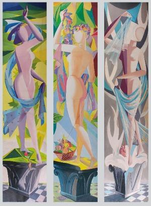 Tadeusz GRONOWSKI (1894-1990), Zestaw trzech prac: