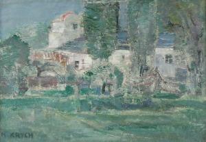 Henryk KRYCH (1905-1980), Wieś rybacka II