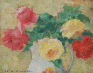 Zofia ALBINOWSKA-MINKIEWICZOWA (1886-1971), Róże