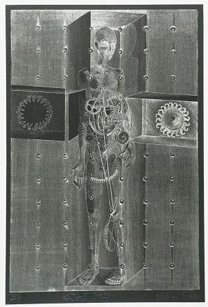 Kacper BOŻEK (ur. 1974), Kształt duszy, 2013