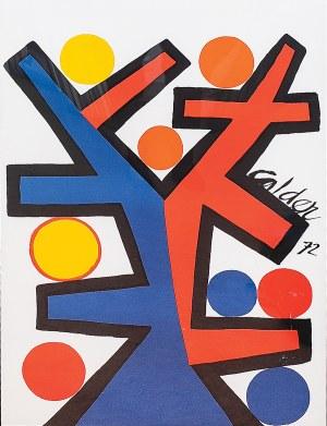 Aleksander Calder (1898 - 1976), ASYMETRIE, 1972 r.