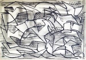 Roman Owidzki (1912 - 2009) ♣, BEZ TYTUŁU, 1960 r.