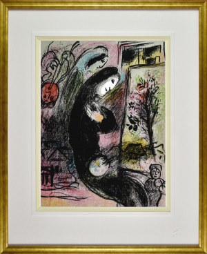 Marc Chagall (1887 - 1985), Inspired L'Inspiré, 1963