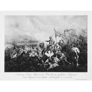 Juliusz Kossak (1824-1899), Andrzej Fredro Wojewoda Podolski po pobiciu Tatarów nad Bugiem swobadza zabranych w niewolę