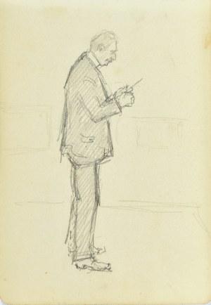 Józef Pieniążek (1888-1953), Szkic postaci