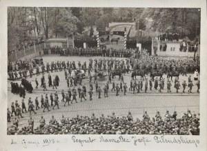 Pogrzeb Józefa Piłsudskiego (Fotografia), fotografia; 17 x 23 cm;