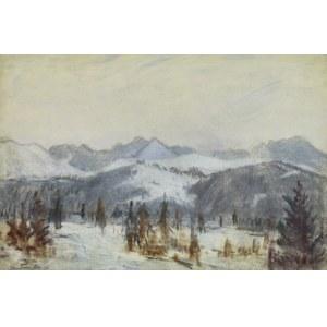 Władysław Serafin (1905-1988), Góry w śniegu