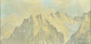 Emil Lindeman (Ok. 1864-1945), Szczyty gór
