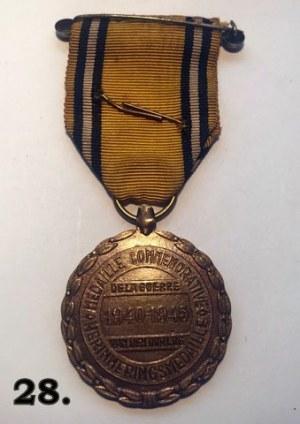 Belgijski Medal Pamiątkowy za Wojnę 1940–1945
